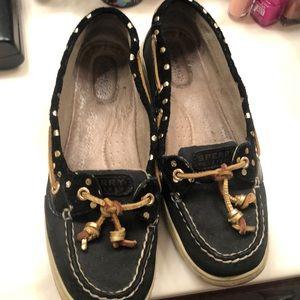 Women's size 9M Sherry boat shoes EUC